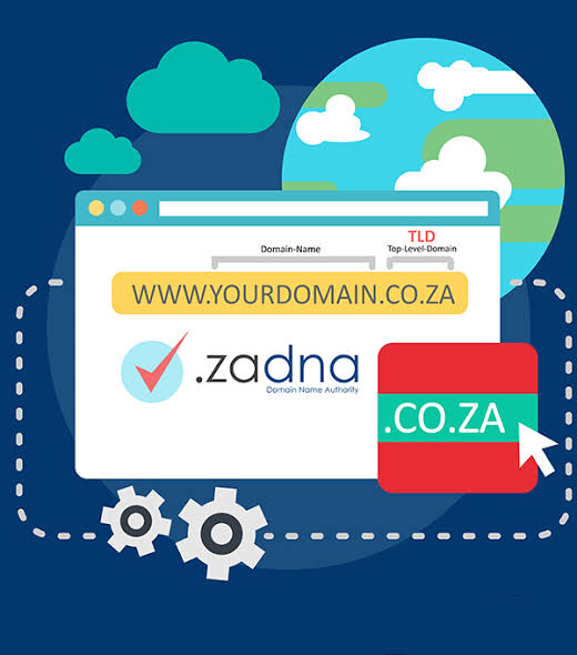 How do I get a domain name in South Africa?